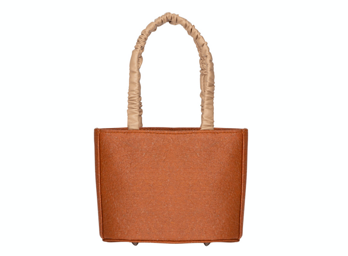 Sophia Cinnamon  Brown Vegan Leather Bag