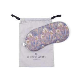 Lavender eye mask, Aromatherapy Liberty of London Hera Brown Sleep Mask