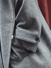Load image into Gallery viewer, Amaury Coat in Herringbone detail