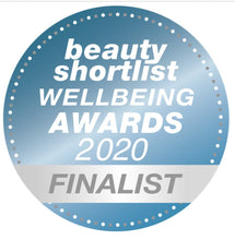 Load image into Gallery viewer, Beauty shortlist wellbeing awards 2020 finalist