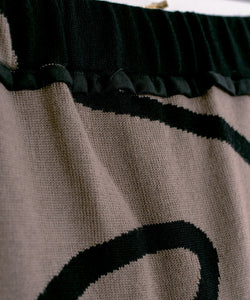 Limited Edition Reversible Jacquard Knit Skirt