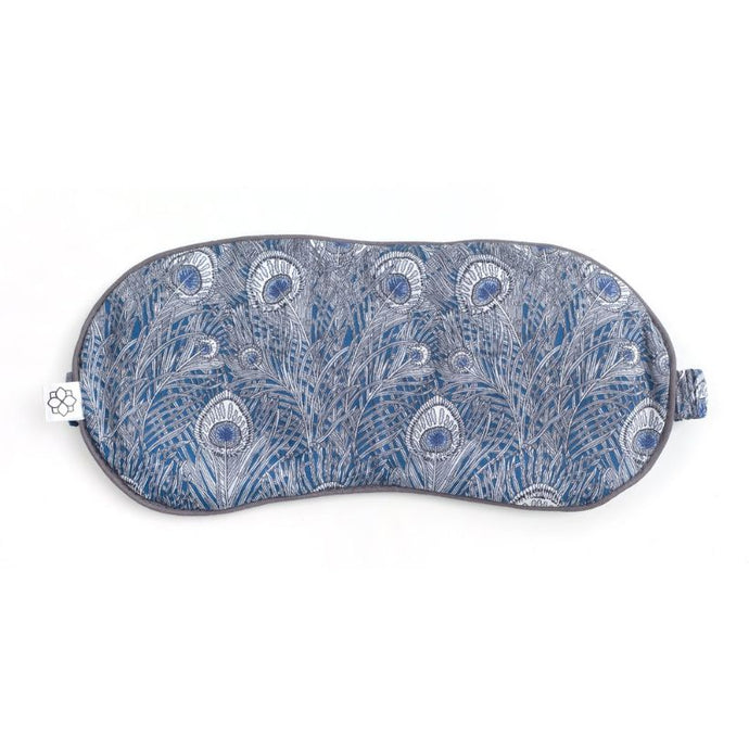 Lavender Eye Mask - Hera Grey Luxury Aromatherapy Eye Mask Spritz Wellness Liberty of London Eye Mask