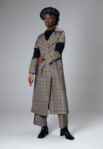 Limited Edition Tartan Wool Coat