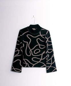 Limited Edition Reversible Jacquard Knit Jumper