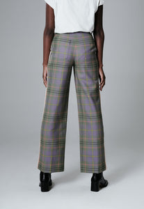 Limited Edition Tartan Wool Trousers