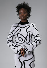 Load image into Gallery viewer, Limited Edition Reversible Jacquard Knit Jumper