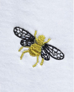 Embroidered Bee by Ingmarson at Natural x Lab
