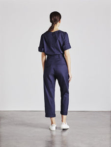 The Ford Trouser in Navy back