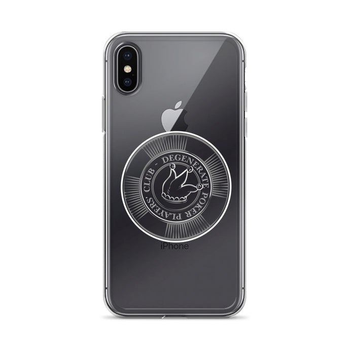 DPPC Poker Chip Logo iPhone Case