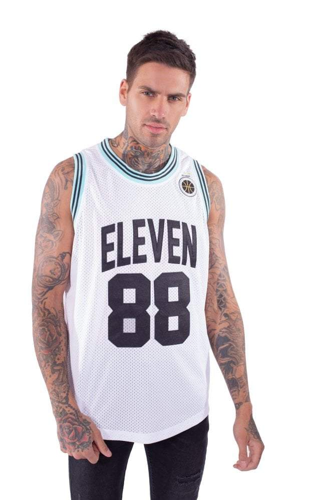 Basketball Vest - White