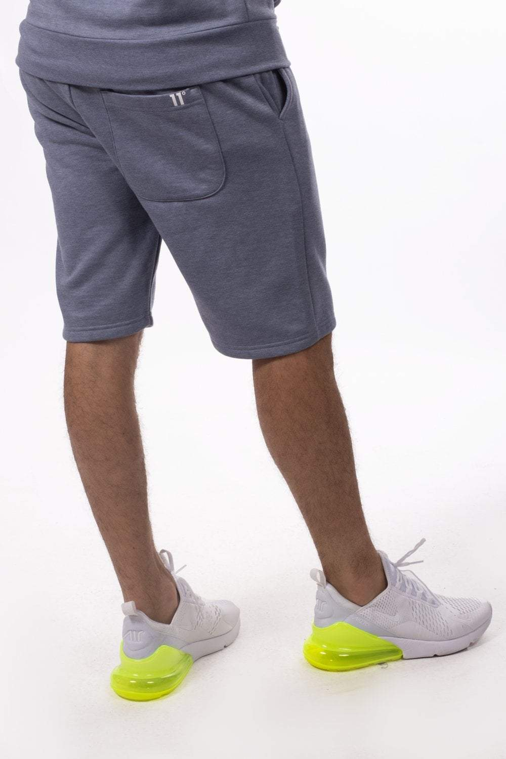 Core Sweat Shorts - Sleet Marl - ZANMODA