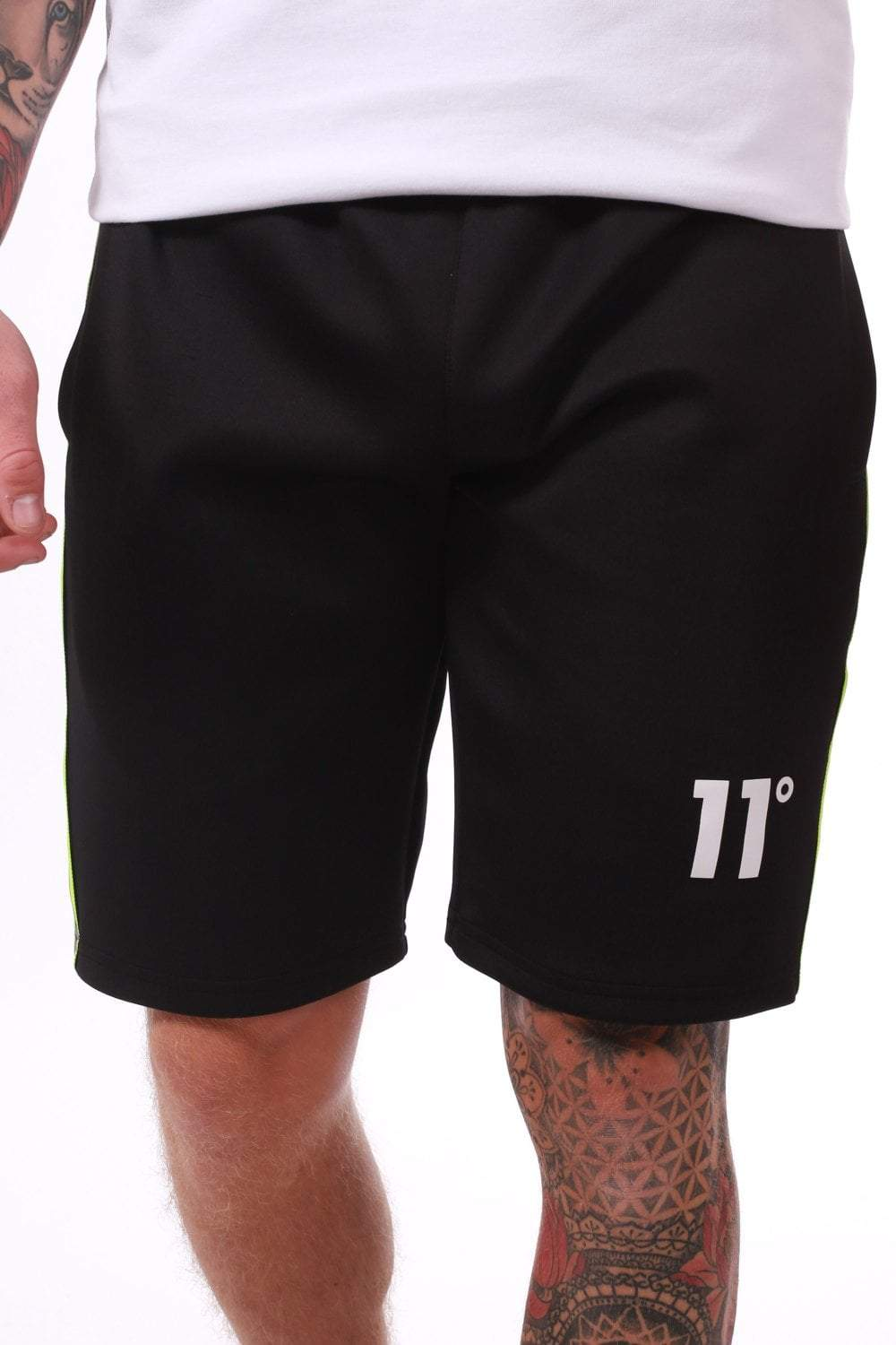 Matrix Poly Shorts - Black - ZANMODA