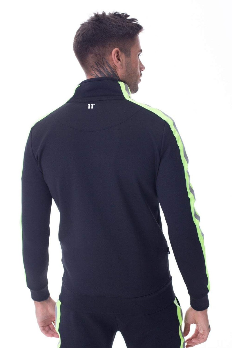 Matrix Poly Track Top - Black