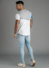 GK Cotroni T-Shirt - White/Blue/Grey