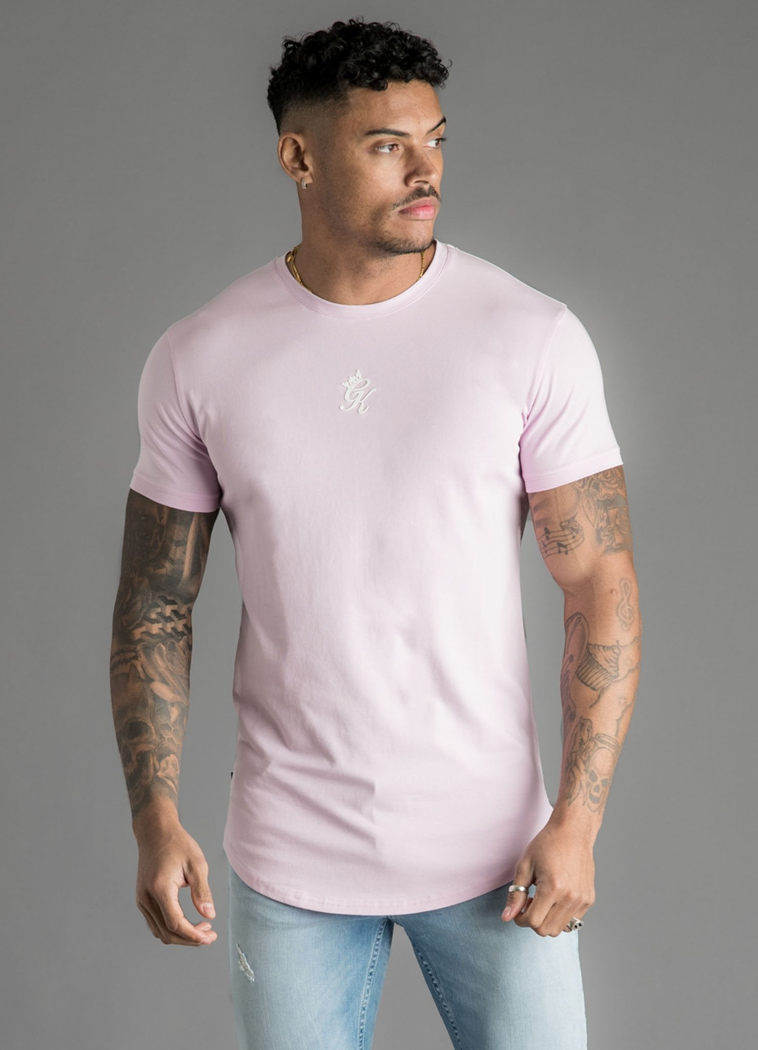 GK Origin T-Shirt  - Light Pink