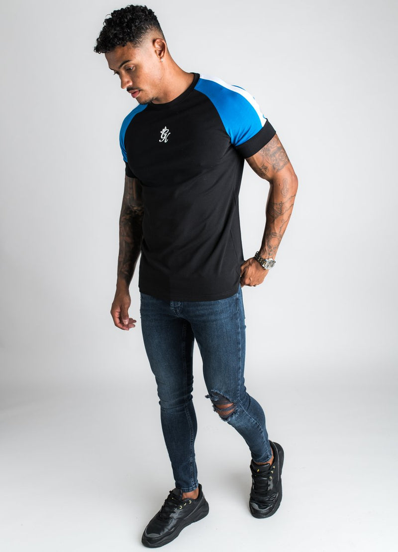 GK Ali T-Shirt - Black/Blue/White