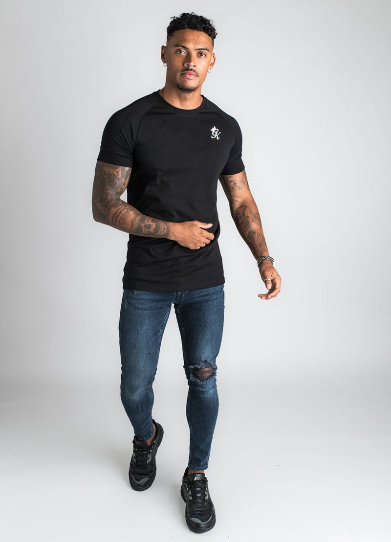 GK Core Plus T Shirt - Black