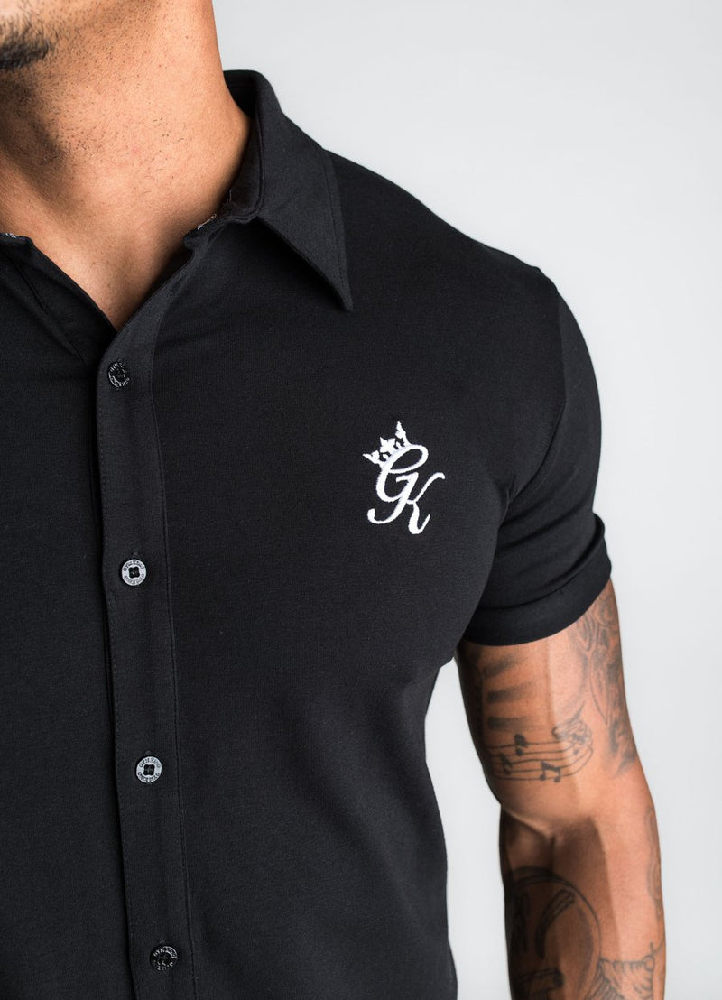 GK Shortsleeve Jersey Shirt - Black/White