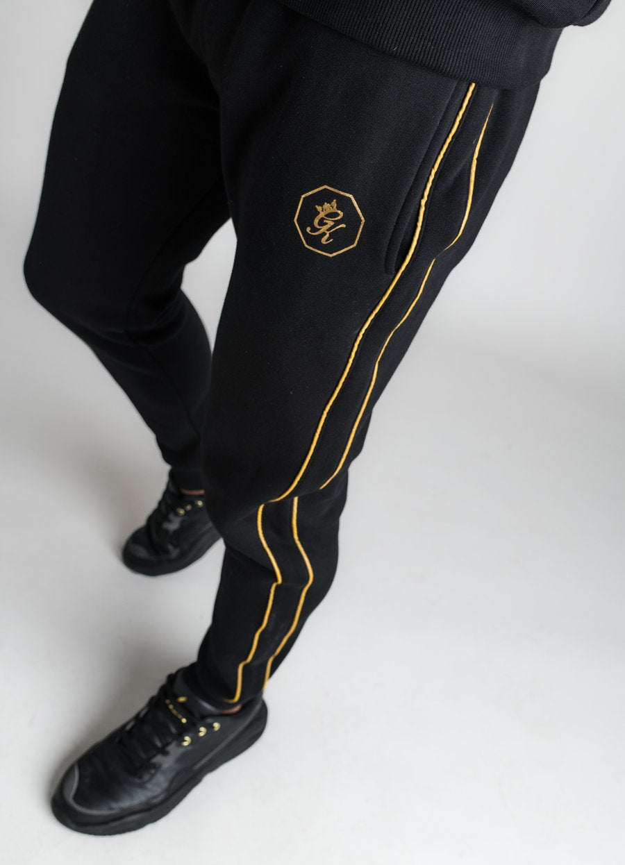 GK Exclusive  Octagon Bottom - BLACK/GOLD