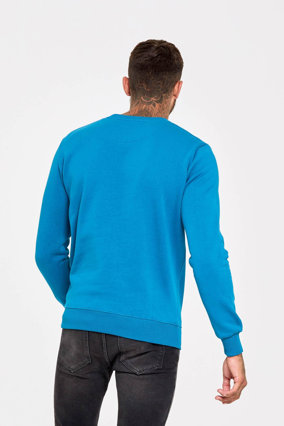 Archive Teal Sweatshirt