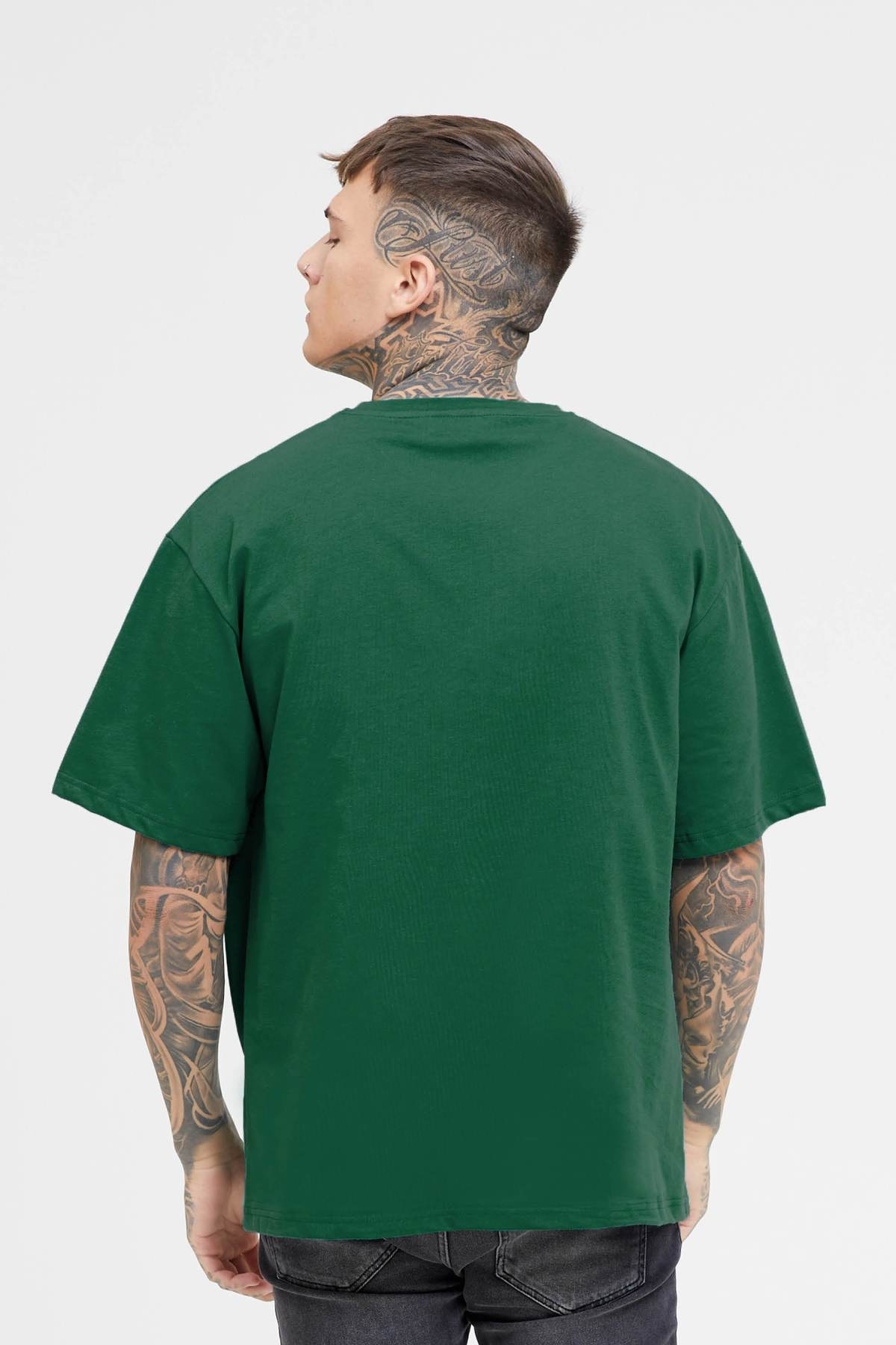 Oversized Nothing Green Jersey