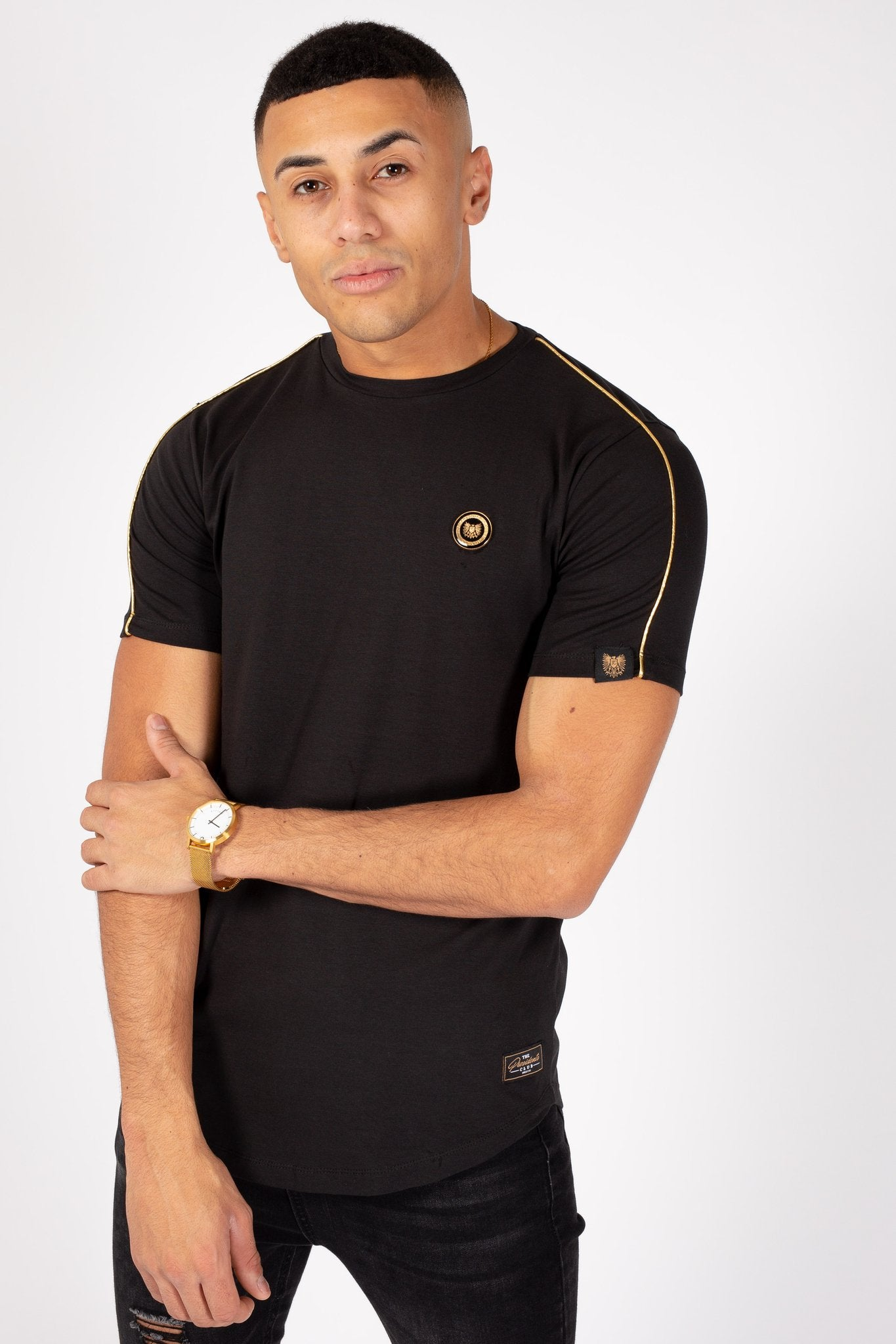 Crest T-Shirt in Black