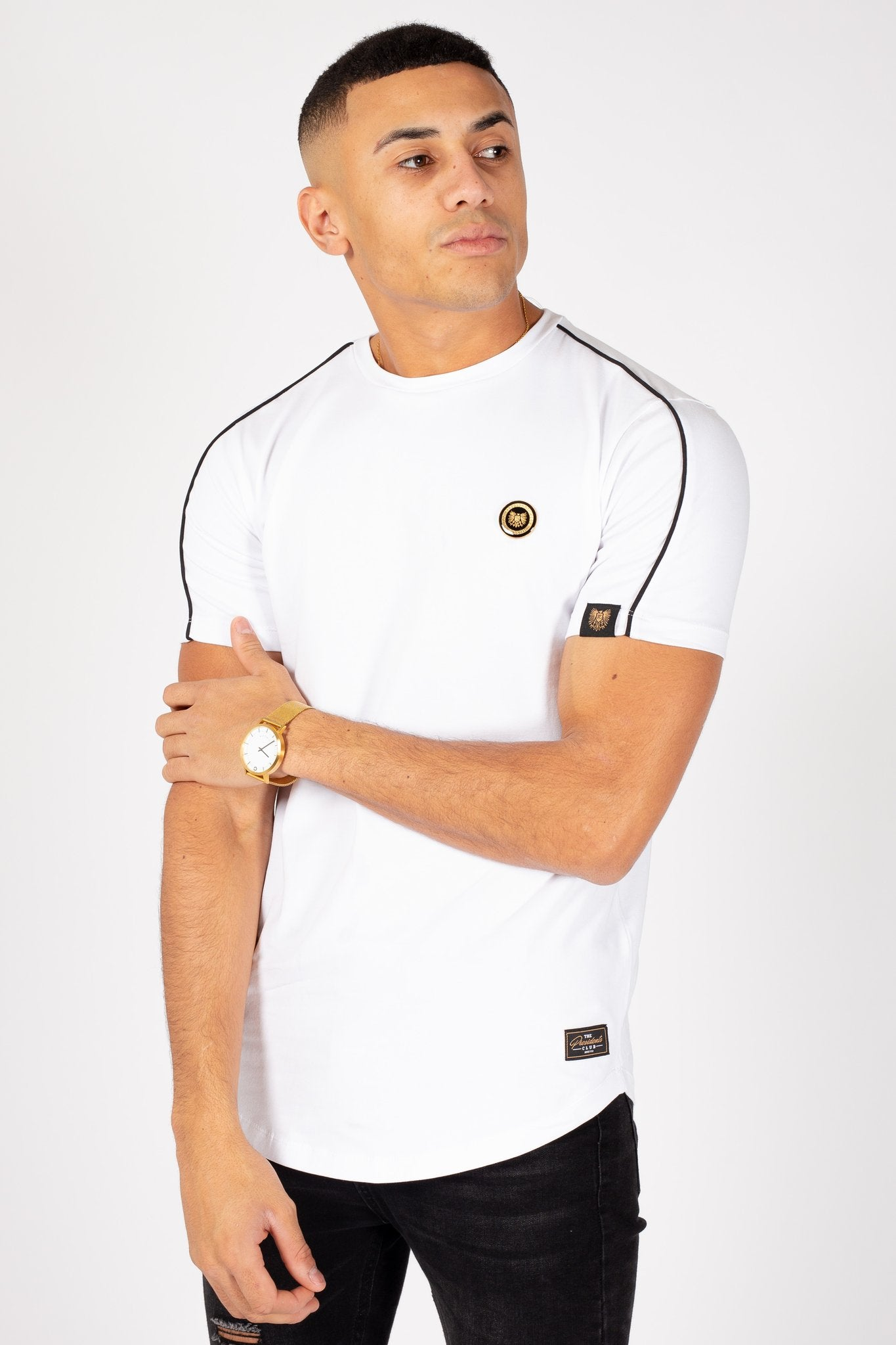 Crest T-Shirt in White
