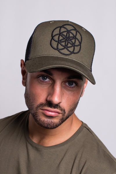 Scar Tissue Core Trucker (KHAKI)