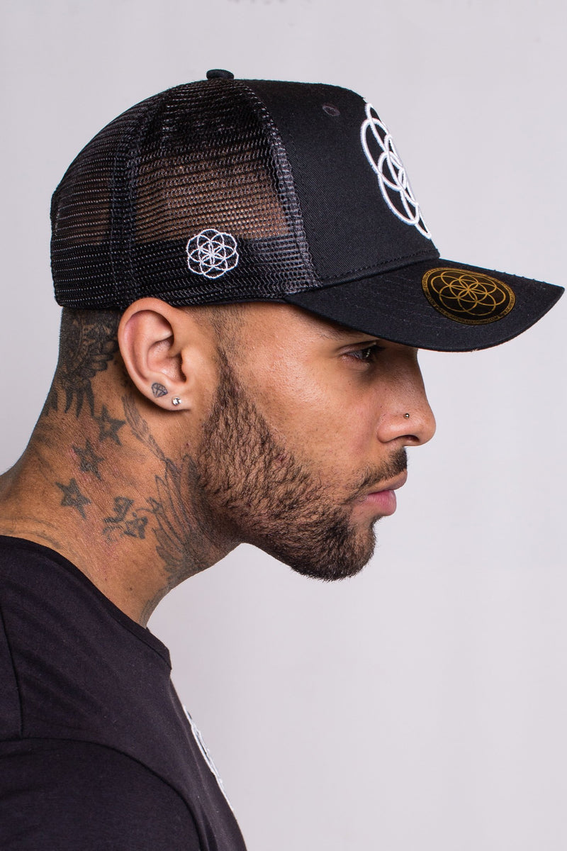 Scar Tissue Core Trucker Cap (BLACK)