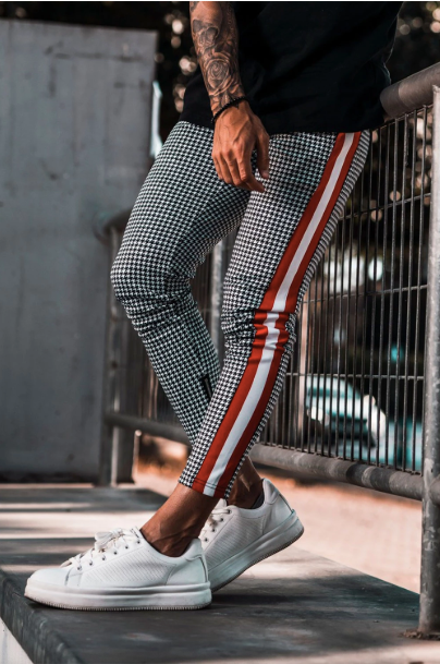 Dogtooth Track Cropped Joggers