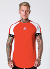 Retro Raglan Tee Red/White
