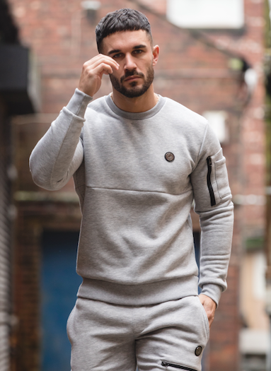 Arrow Sweater Grey