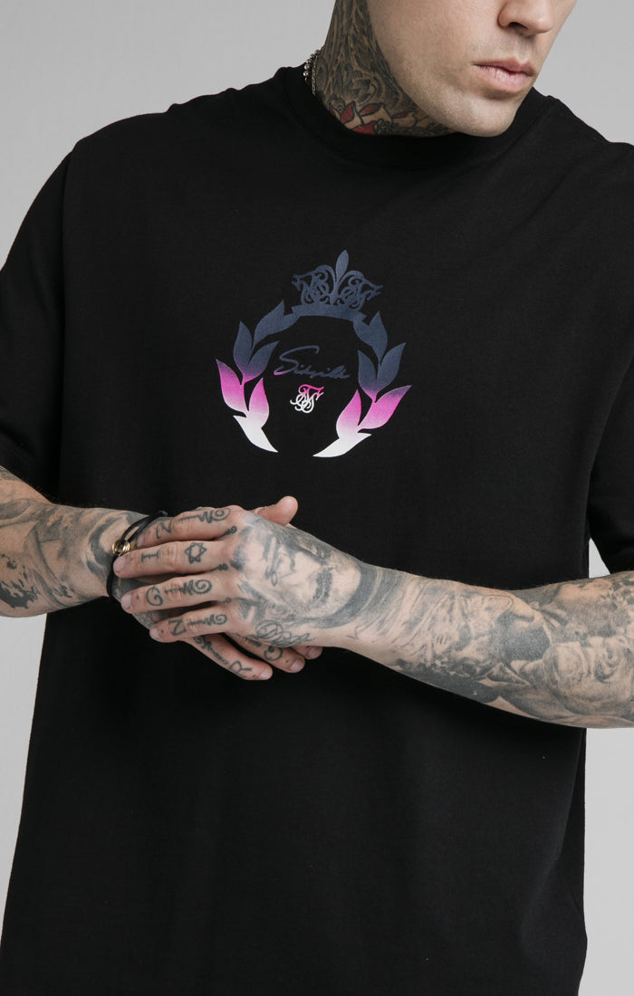 SikSilk S/S Essential Tee - Black