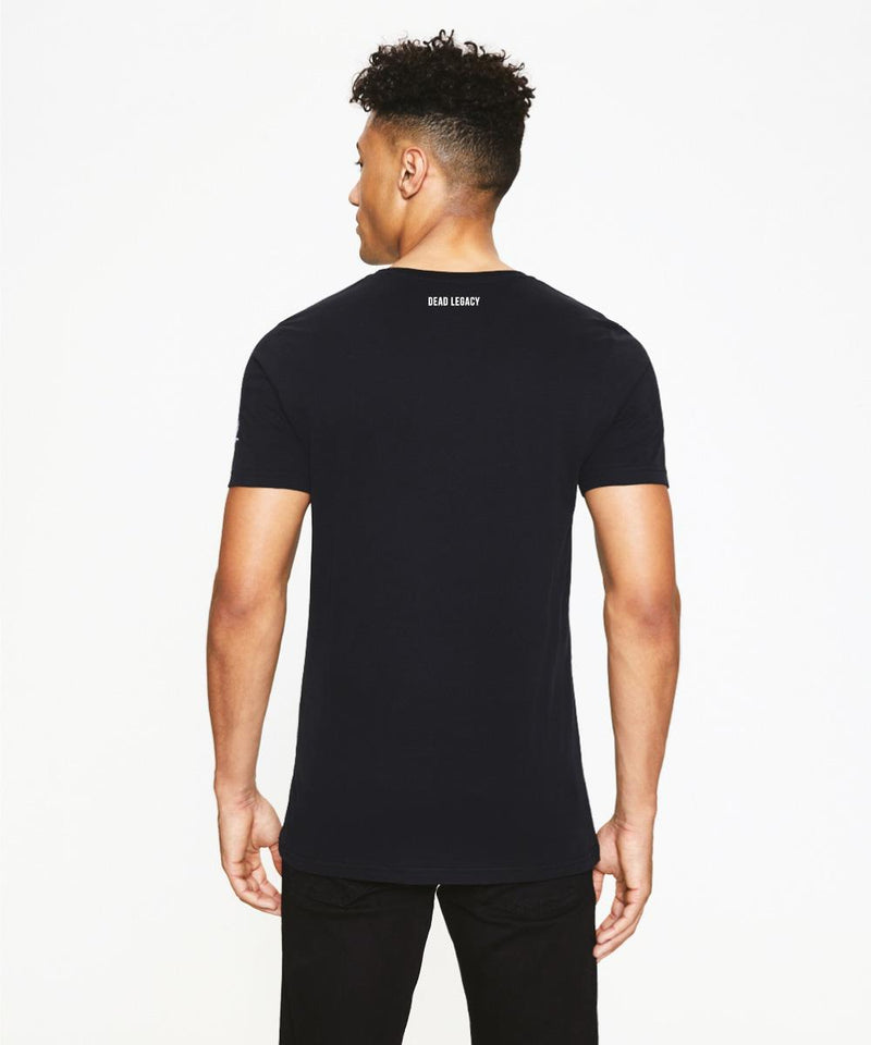 Black T-Shirt with Muhammad Ali Print