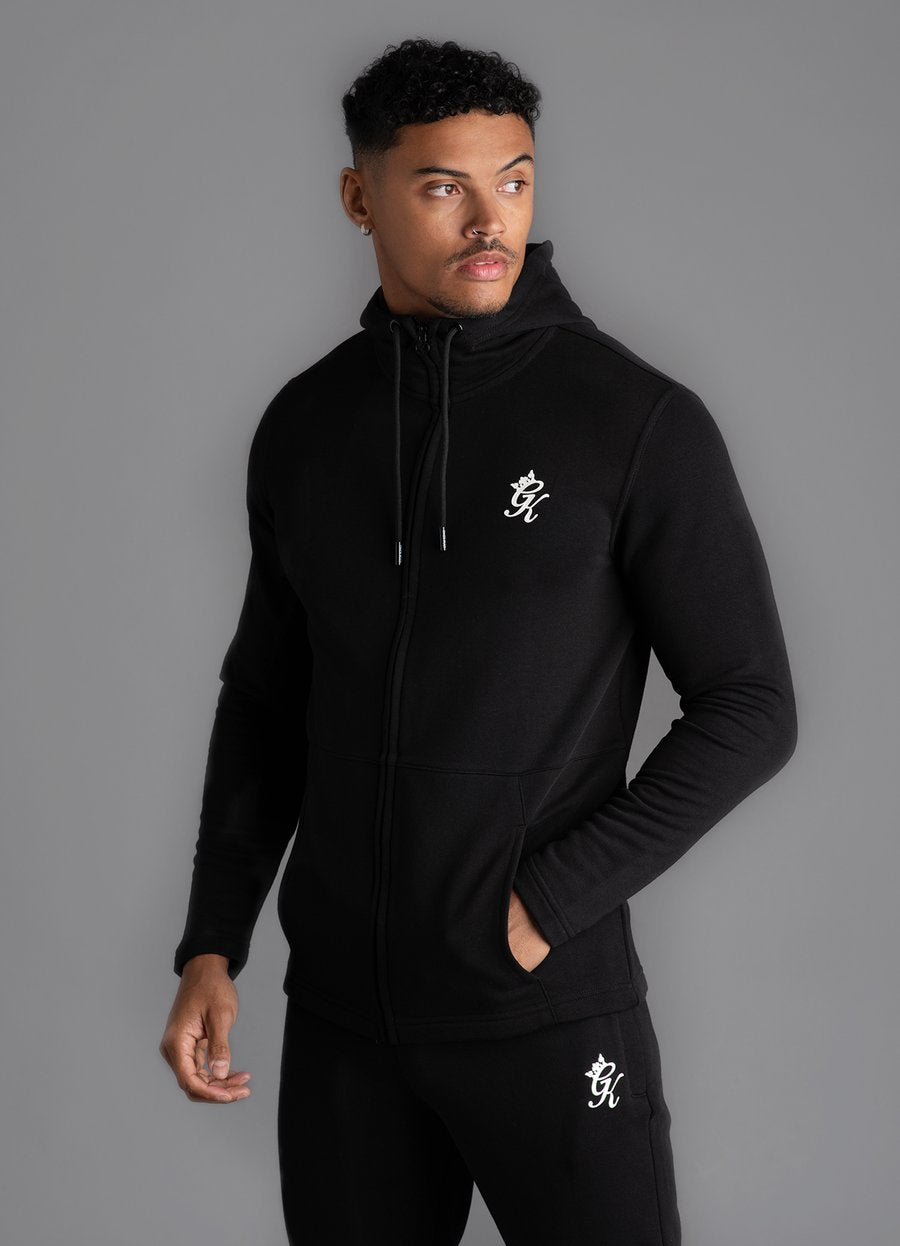 GK Dennis Core Performance Tracksuit Hoodie -BLACK