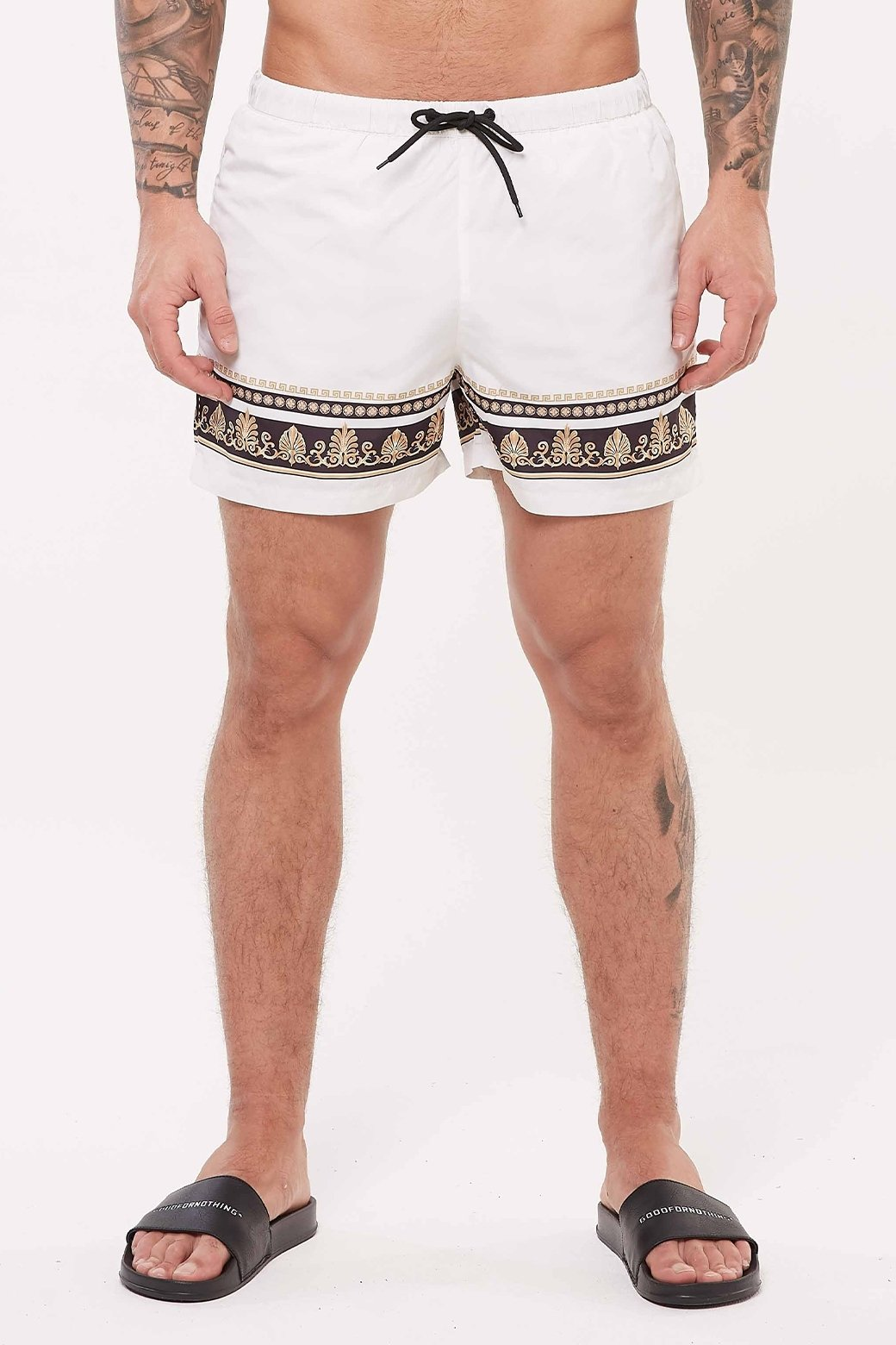 Baroque Resort Swim Shorts