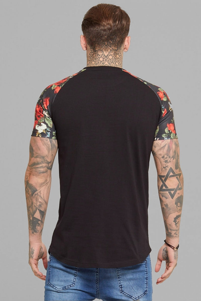 Good For Nothing Bloom T-Shirt (Black)