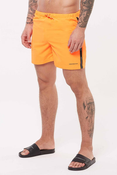 Future Orange Swim Shorts