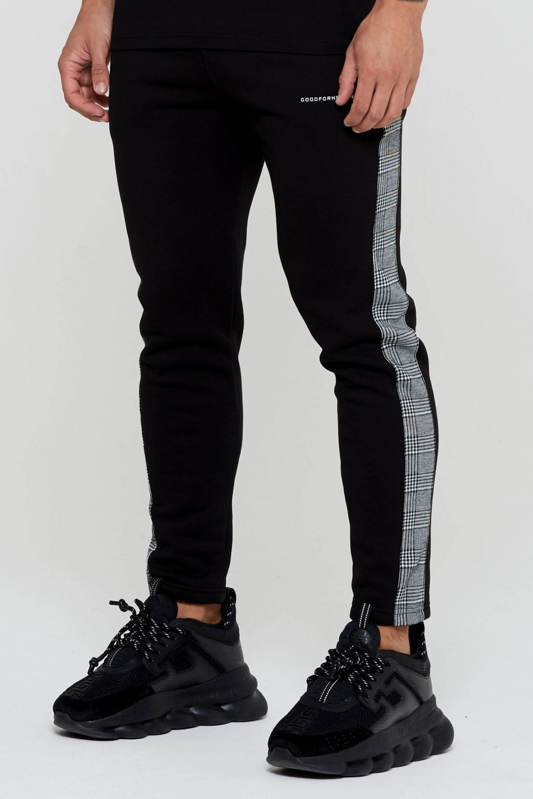 Barclay Black Joggers