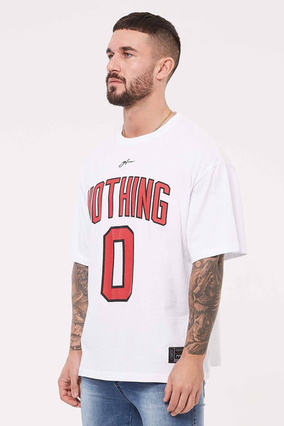 Nothing Oversized White Jersey