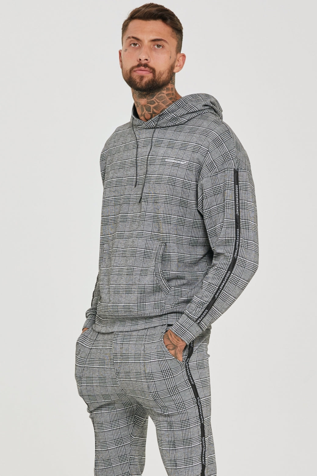 Prince of Wales Oversized Hoodie