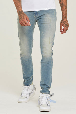 Slim Fit Dusk Denim Jeans - ZANMODA