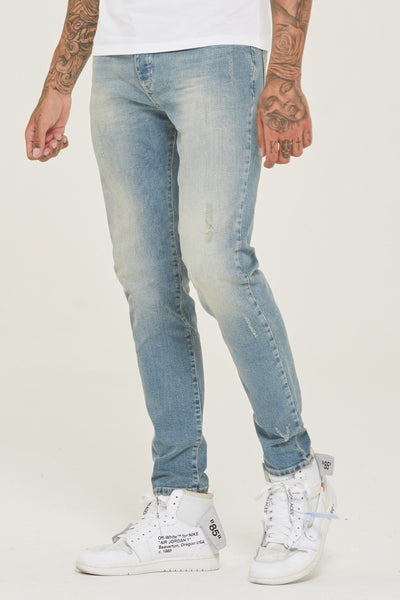 Slim Fit Dusk Denim Jeans