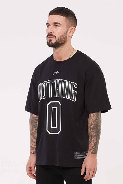 Nothing Oversized Black Jersey
