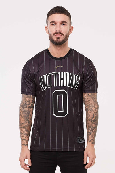 Nothing Pinstripe Black Jersey