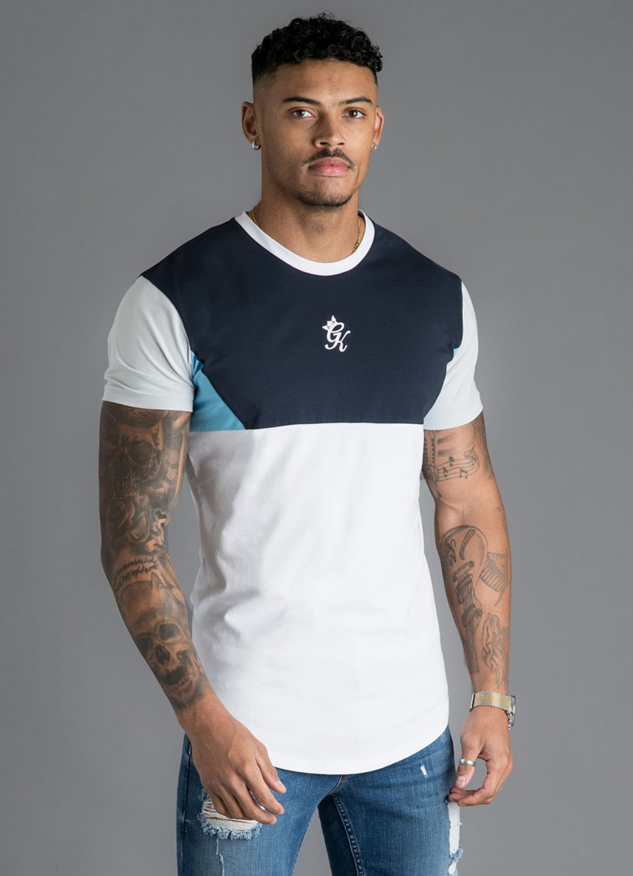 GK Lupo T-Shirt - Navy/White/Blue