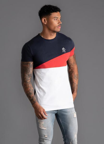 GK Nicolas T-shirt -Navy Nights/White/Red