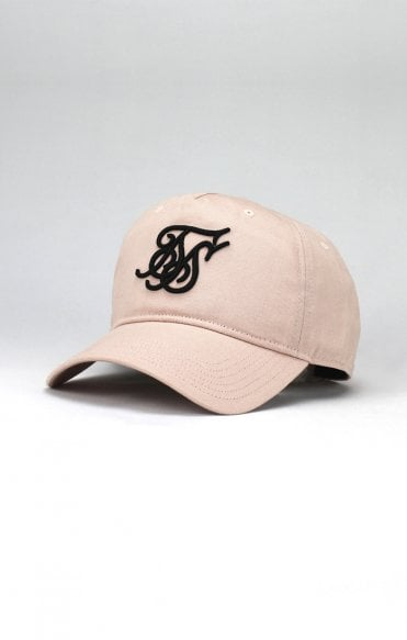 SikSilk Bent Peak Sports Cap – Light Pink