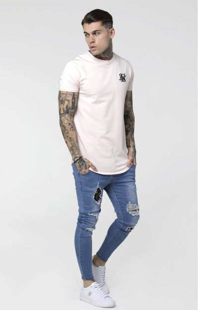 SikSilk S/S Gym Tee – Pink