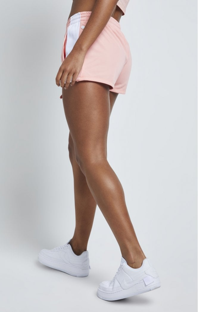SikSilk Popper Side Shorts – Apricot Blush - ZANMODA